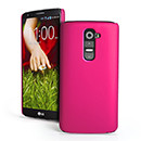 Coque LG Optimus G2 Plastique Etui Rigide - Rose Chaud