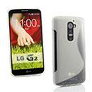 Coque LG Optimus G2 S-Line Silicone Gel Housse - Blanche