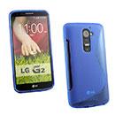 Coque LG Optimus G2 S-Line Silicone Gel Housse - Bleu