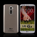 Coque LG Optimus G2 Silicone Transparent Housse - Gris