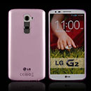 Coque LG Optimus G2 Silicone Transparent Housse - Rose