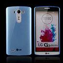 Coque LG Optimus G3 Beat Silicone Transparent Housse - Bleu