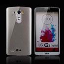 Coque LG Optimus G3 Beat Silicone Transparent Housse - Gris