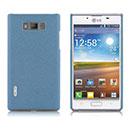 Coque LG Optimus L7 P700 Sables Mouvants Etui Rigide - Bleu