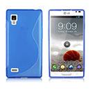 Coque LG Optimus L9 P760 S-Line Silicone Gel Housse - Bleue Ciel