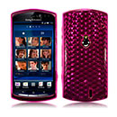 Coque LG Sony Ericsson Xperia Kyno V Diamant TPU Gel Housse - Rouge