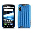 Coque Motorola Atrix MB860 Filet Plastique Etui Rigide - Bleue Ciel