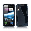 Coque Motorola Atrix MB860 S-Line Silicone Gel Housse - Noire