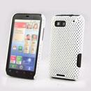 Coque Motorola Defy MB525 Filet Plastique Etui Rigide - Blanche