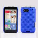 Coque Motorola Defy MB525 Filet Plastique Etui Rigide - Bleu