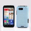 Coque Motorola Defy MB525 Filet Plastique Etui Rigide - Bleue Ciel