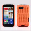 Coque Motorola Defy MB525 Filet Plastique Etui Rigide - Orange