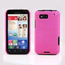 Coque Motorola Defy MB525 Filet Plastique Etui Rigide - Rose Chaud