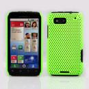 Coque Motorola Defy MB525 Filet Plastique Etui Rigide - Verte