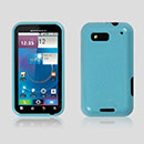 Coque Motorola Defy MB525 Silicone Gel Housse - Bleu