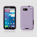 Coque Motorola Defy MB525 Silicone Gel Housse - Pourpre
