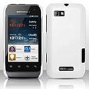 Coque Motorola Defy Mini XT320 Plastique Etui Rigide - Blanche