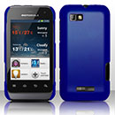 Coque Motorola Defy Mini XT320 Plastique Etui Rigide - Bleu