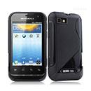 Coque Motorola Defy Mini XT320 S-Line Silicone Gel Housse - Noire