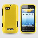 Coque Motorola Defy Mini XT320 Silicone Gel Housse - Jaune
