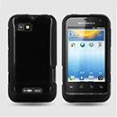 Coque Motorola Defy Mini XT320 Silicone Gel Housse - Noire