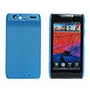 Coque Motorola Droid Razr Maxx XT912 Filet Plastique Etui Rigide - Bleue Ciel