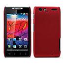 Coque Motorola Droid Razr Maxx XT912 Plastique Etui Rigide - Rouge