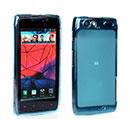 Coque Motorola Droid Razr Maxx XT912 Silicone Transparent Housse - Bleue Ciel