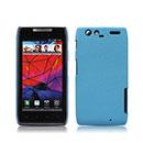 Coque Motorola Droid Razr XT910 Sables Mouvants Etui Rigide - Bleu