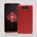 Coque Motorola Droid Ultra XT1080 Plastique Etui Rigide - Rouge