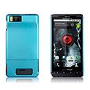 Coque Motorola Droid X MB810 ME811 Plastique Etui Rigide - Bleue Ciel