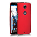 Coque Motorola Google Nexus 6 Plastique Etui Rigide - Rouge