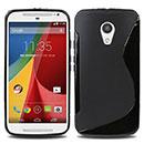 Coque Motorola Moto G 2 S-Line Silicone Gel Housse - Noire
