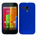 Coque Motorola Moto G Plastique Etui Rigide - Bleu