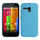 Coque Motorola Moto G Plastique Etui Rigide - Bleue Ciel