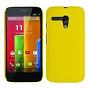 Coque Motorola Moto G Plastique Etui Rigide - Jaune