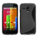 Coque Motorola Moto G S-Line Silicone Gel Housse - Gris