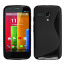 Coque Motorola Moto G S-Line Silicone Gel Housse - Noire