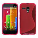 Coque Motorola Moto G S-Line Silicone Gel Housse - Rose Chaud