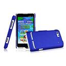 Coque Motorola Motoluxe XT615 Plastique Etui Rigide - Bleu