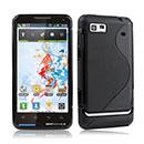Coque Motorola Motoluxe XT615 S-Line Silicone Gel Housse - Noire