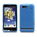 Coque Motorola Motoluxe XT615 Silicone Gel Housse - Bleue Ciel