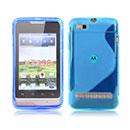 Coque Motorola MotoSmart XT389 XT390 S-Line Silicone Gel Housse - Bleue Ciel