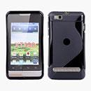 Coque Motorola MotoSmart XT389 XT390 S-Line Silicone Gel Housse - Noire