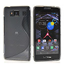 Coque Motorola Razr HD XT926 S-Line Silicone Gel Housse - Gris