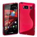 Coque Motorola Razr HD XT926 S-Line Silicone Gel Housse - Rose Chaud
