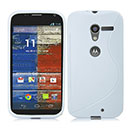 Coque Motorola X Phone XFON S-Line Silicone Gel Housse - Blanche