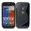Coque Motorola X Phone XFON S-Line Silicone Gel Housse - Noire