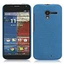 Coque Motorola X Phone XFON Sables Mouvants Etui Rigide - Bleu