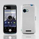 Coque Motorola XT502 Filet Plastique Etui Rigide - Blanche